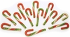 Be Good Holiday Tri- Color Munchy Rawhide Candy Canes (12-PACK)