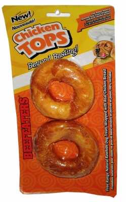 "Beefeaters Chicken Tops Donut 3.5"" (2 Pack)"