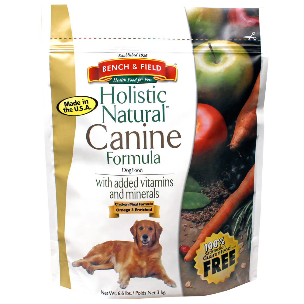 Bench & Field Holistic Natural Canine Formula (6.6 lbs)