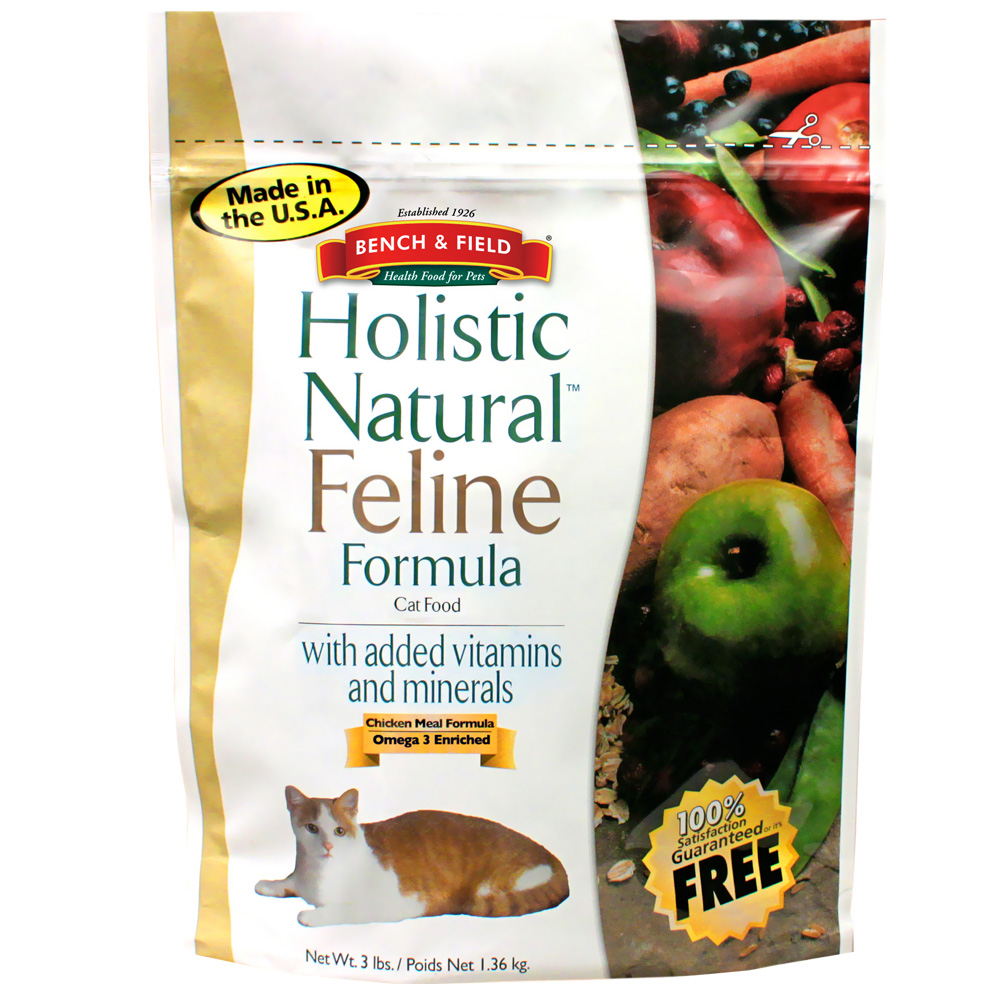 Bench & Field Holistic Natural Feline Formula (3 lbs)