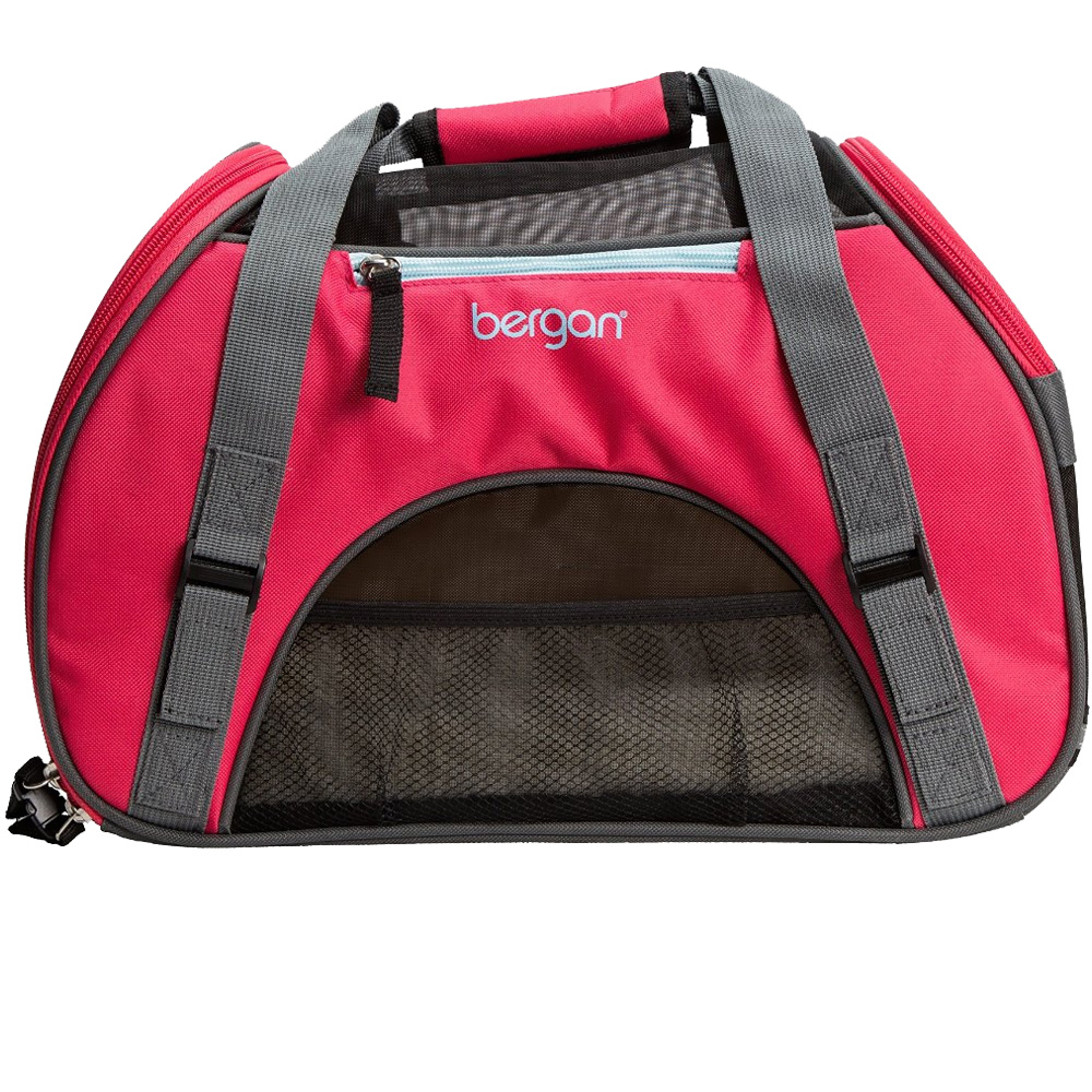"Bergan Pet Comfort Carrier - Small Berry  (16"" x 8"" x 11"")"