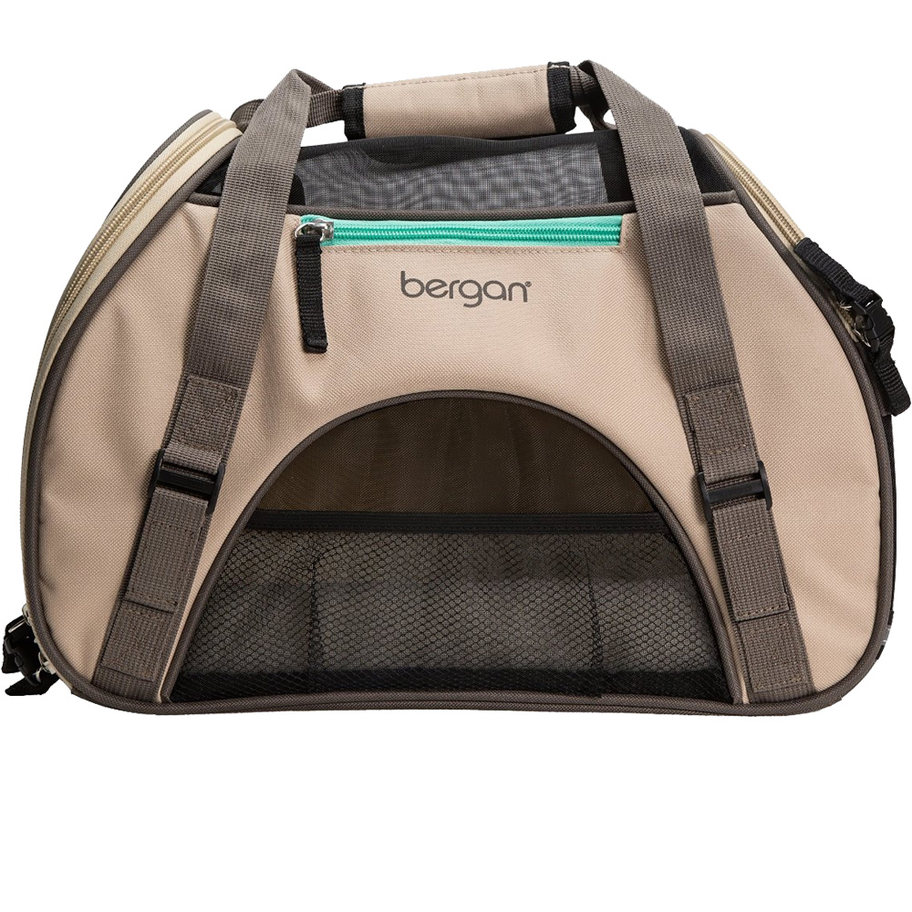 "Bergan Pet Comfort Carrier - Small Taupe (16"" x 8"" x 11"")"