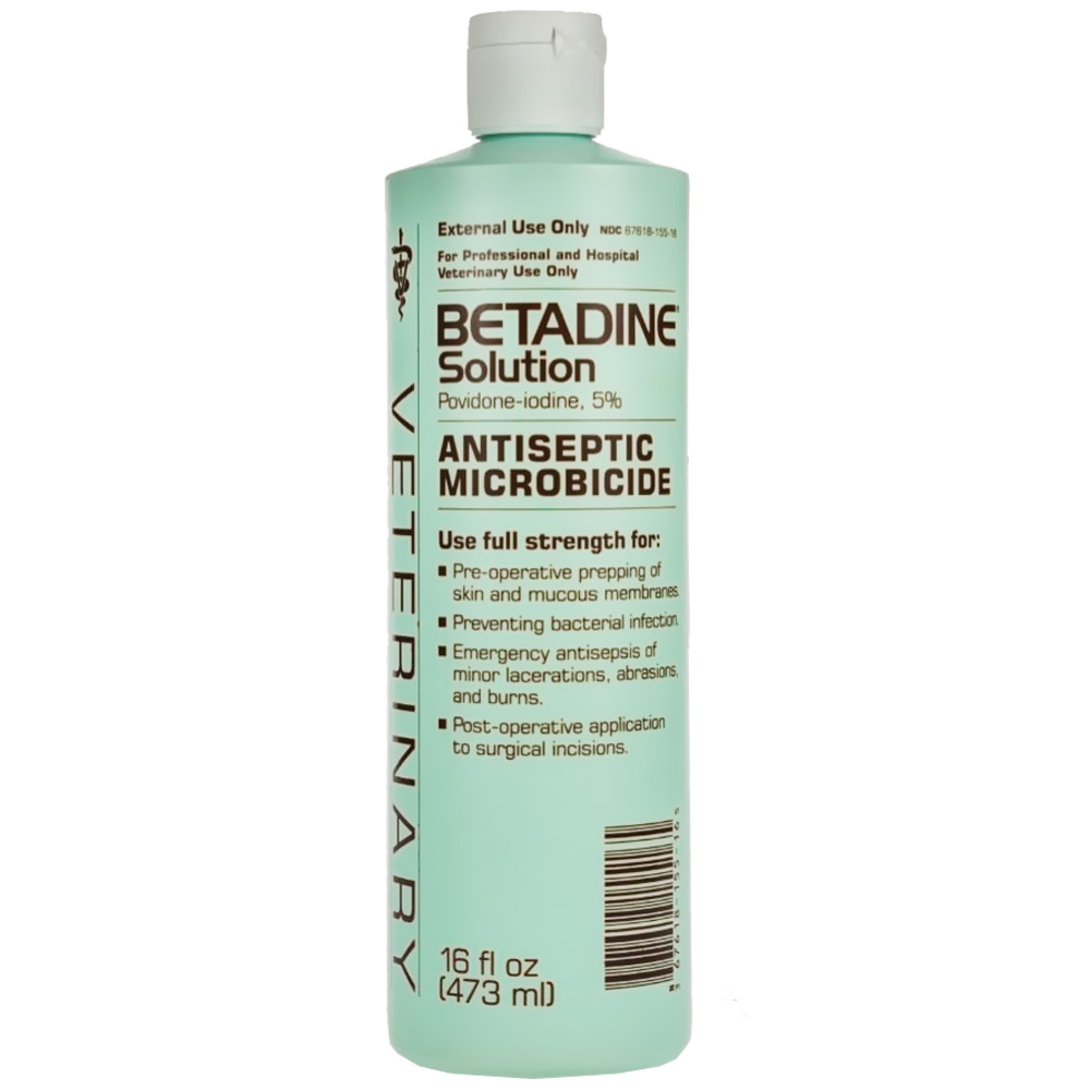 Betadine Solution (16 oz)