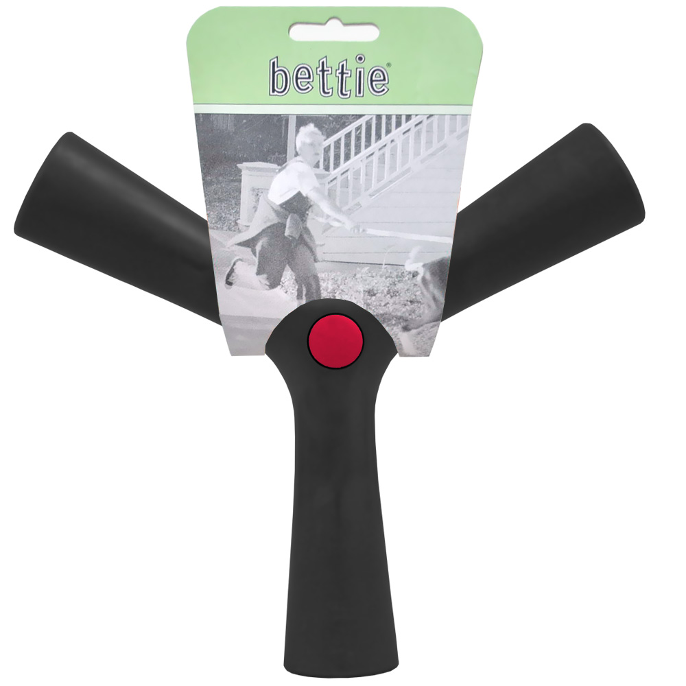 Bettie Fetch Toy Barkin Black (BLACK) - LARGE