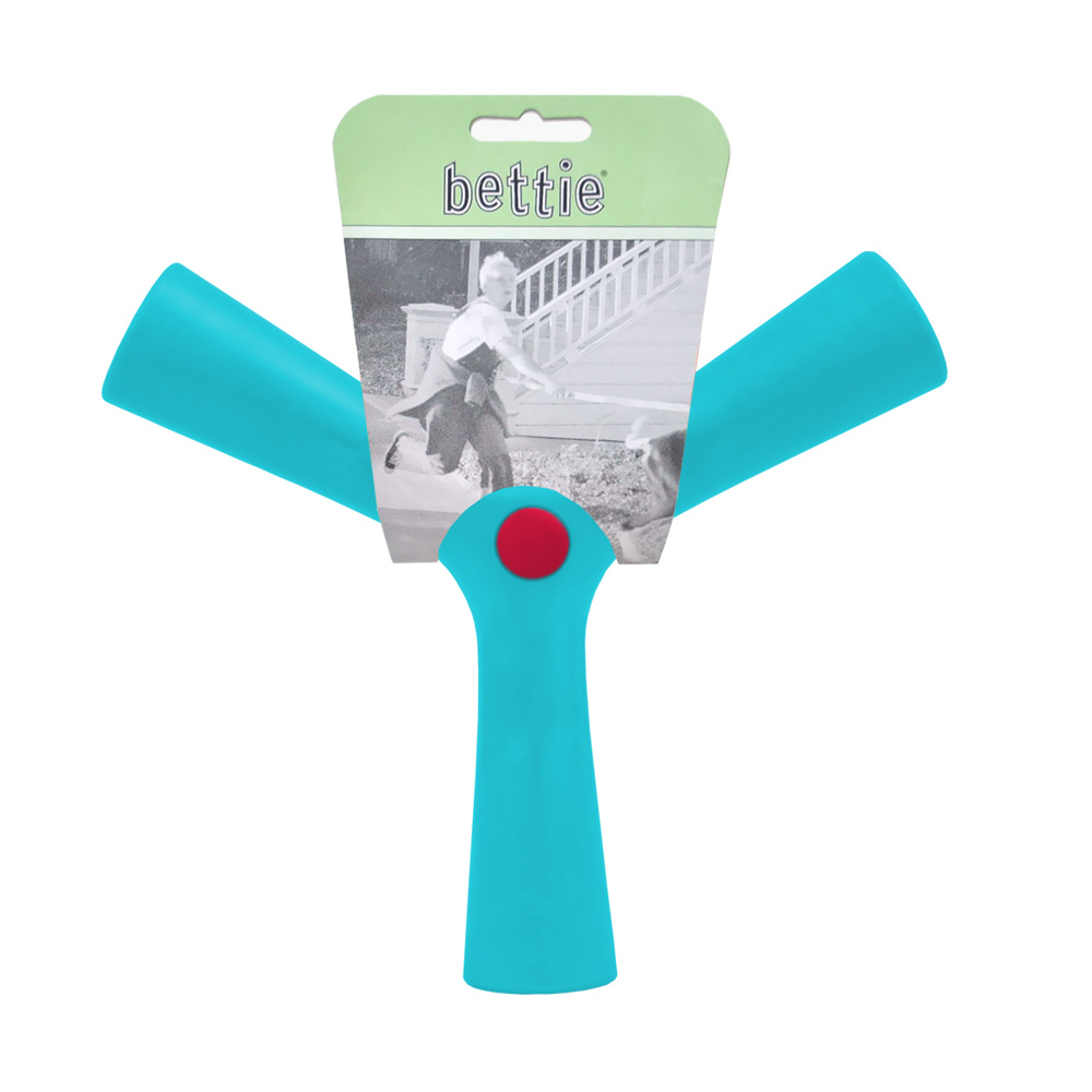 Bettie Fetch Toy Tail Waggin Teal (BLUE) - SMALL