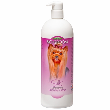 Bio-Groom Silk Creme Rinse Conditioner (32 fl oz)