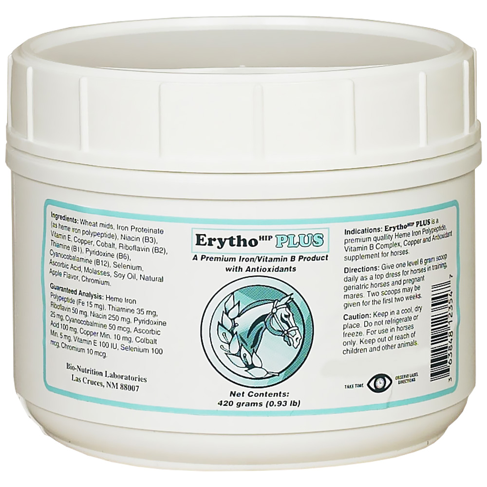 Bio-Nutrition Erytho Plus (420 gm)