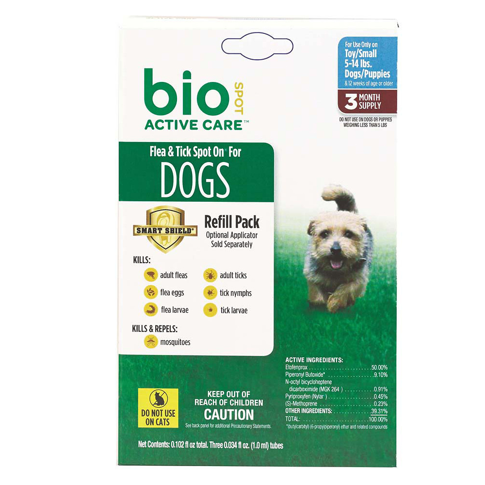 Bio Spot® Active Care Spot On for Dogs