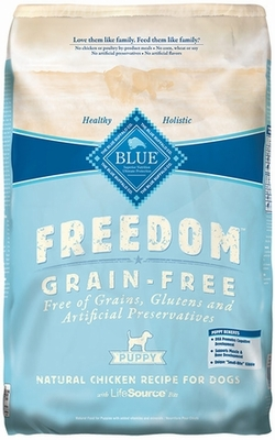 Blue Buffalo Freedom Grain-Free Puppy Chicken Recipe (11 lb)