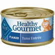 Blue Buffalo Healthy Gourmet Flaked Tuna Canned Cat Food (24x5.5 oz)