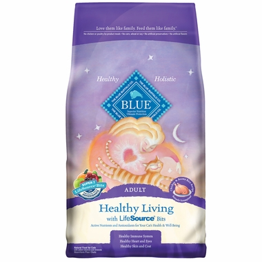 Blue Buffalo Healthy Living Chicken & Brown Rice Recipe for Cats (7 lb)