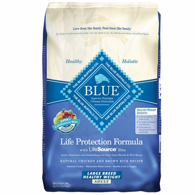 Blue Buffalo Healthy Weight Chicken & Brown Rice Large Breed Recipe (15 lb)