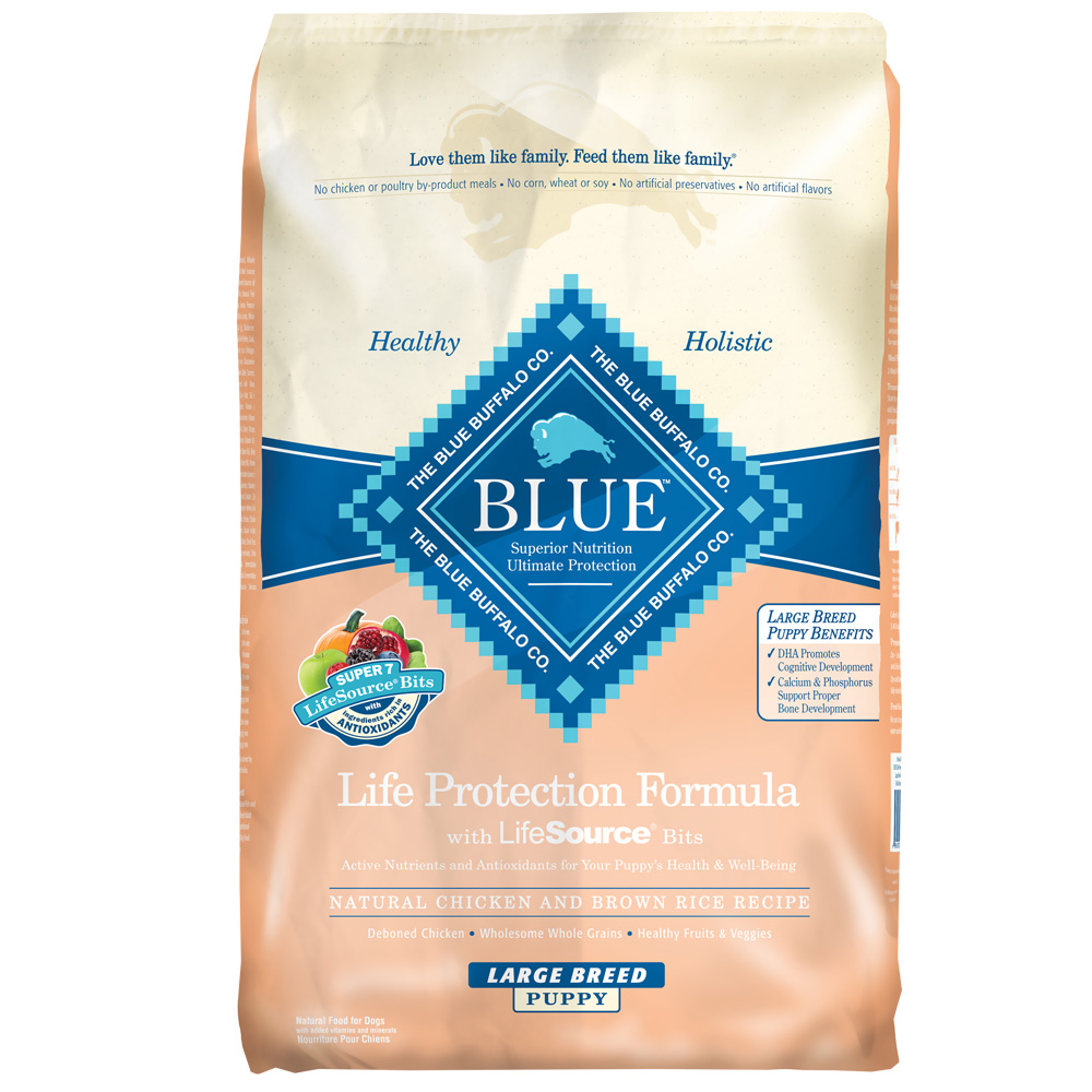 Blue Buffalo Life Protection Chicken & Brown Rice Large Breed Puppy Recipe (30 lb)
