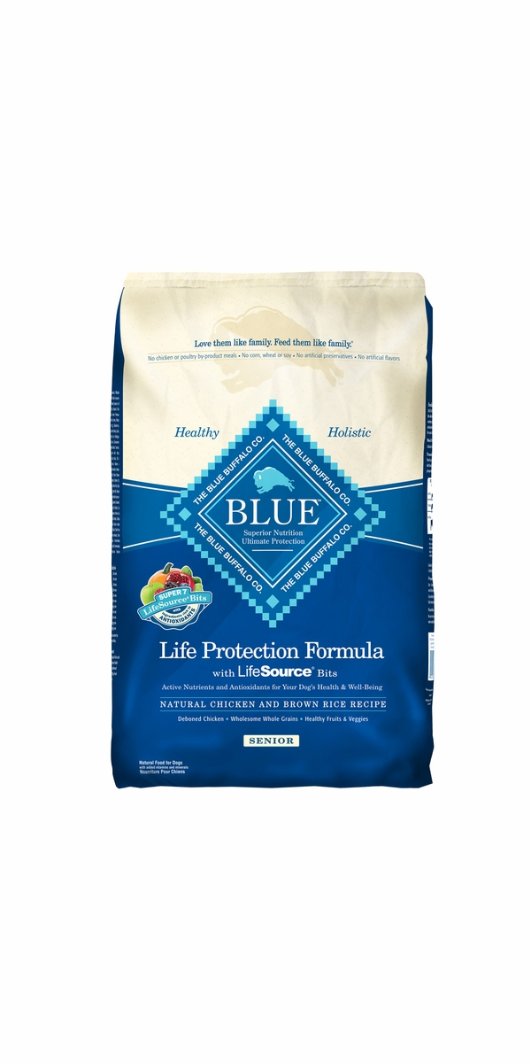 Blue Buffalo Life Protection Chicken & Brown Rice Senior Recipe (30 lb)