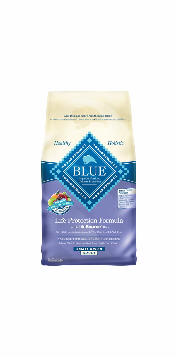 Blue Buffalo Life Protection Fish & Brown Rice Small Breed Recipe (15 lb)