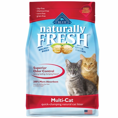 Blue Buffalo Naturally Fresh Multi-Cat Clumping Litter (6 lb)