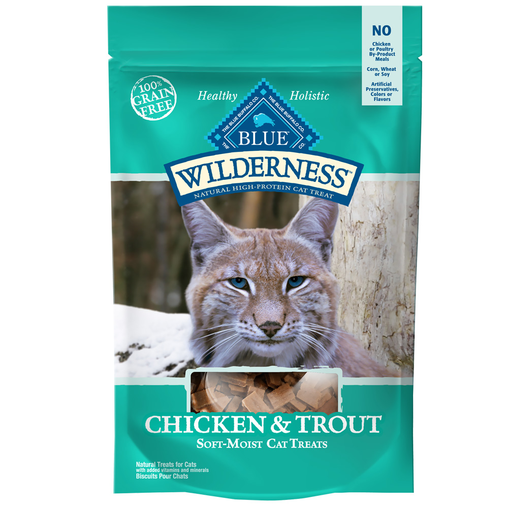 Blue Buffalo Wilderness Chicken & Trout Cat Treats (2 oz)