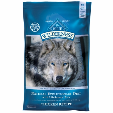 Blue Buffalo Wilderness Grain-Free Chicken Recipe (11 lb)