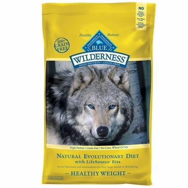 Blue Buffalo Wilderness Grain-Free Healthy Weight Recipe (24 lb)