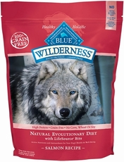 Blue Buffalo Wilderness Grain Free - Salmon Recipe for Dogs - 24 lbs