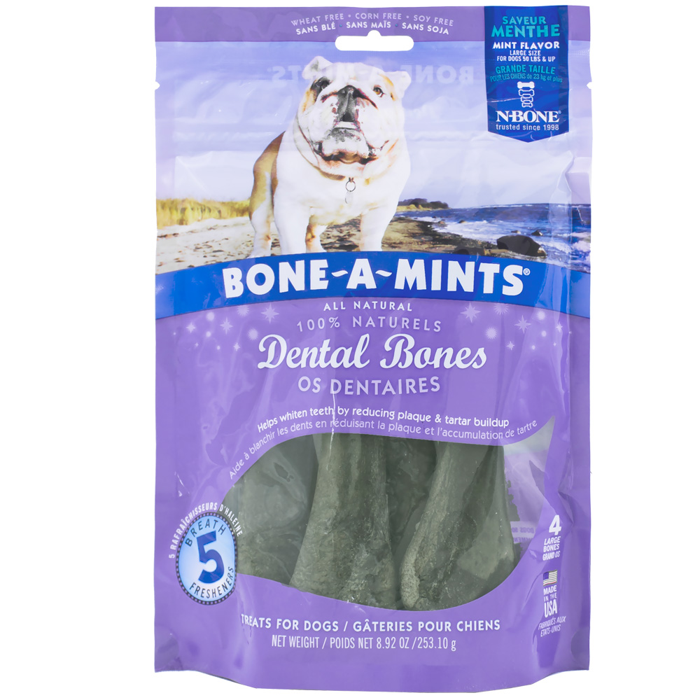 Bone A Mints Wheat Free - Large (4-Pack)