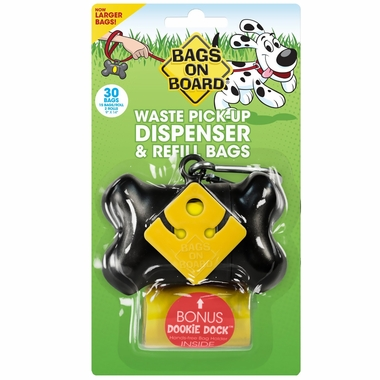 Bone Dispenser - Black (30 bags)