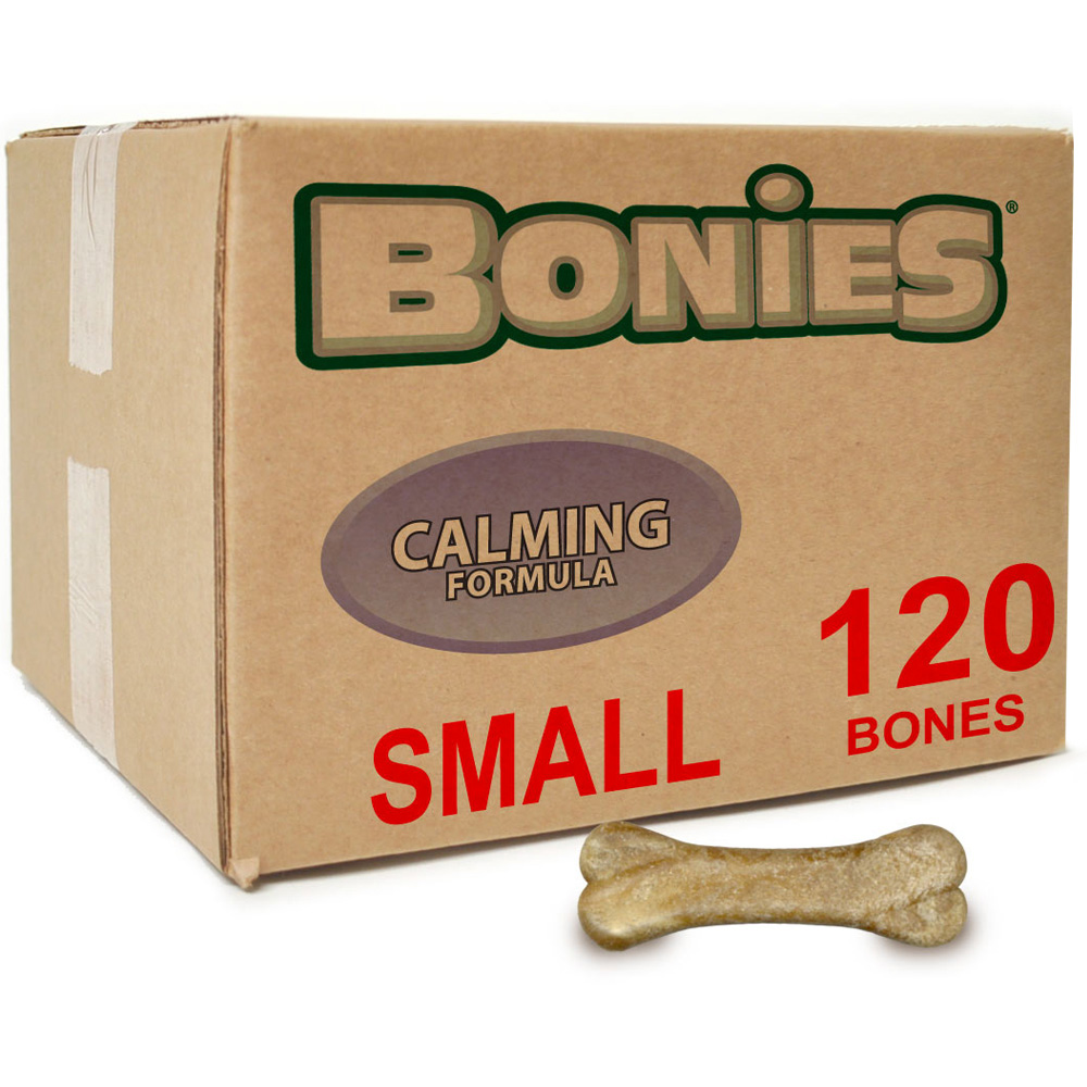 BONIES Natural Calming Formula BULK BOX SMALL (120 Bones)