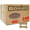 BONIES (BULK BOX) Natural Calming (240 Mini Bones)