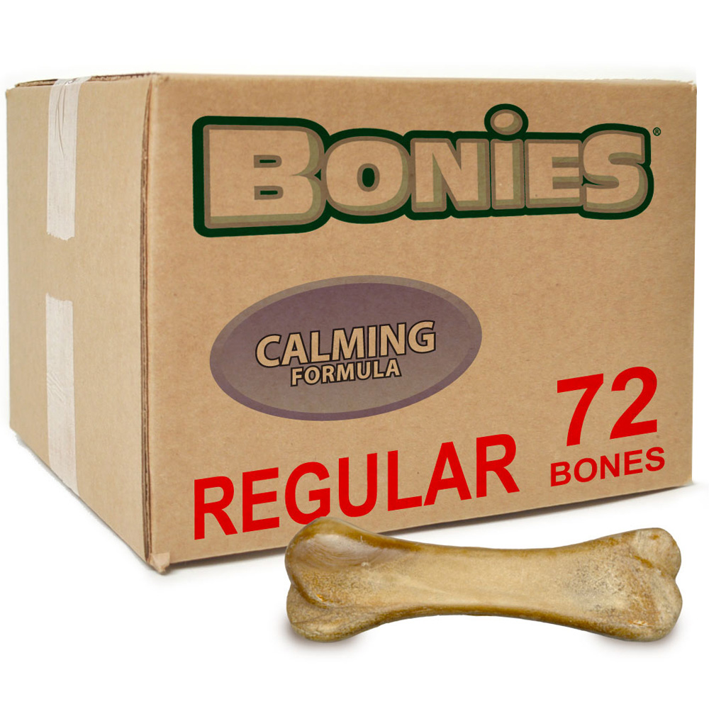 BONIES Natural Calming Formula BULK BOX LARGE (72 Bones)