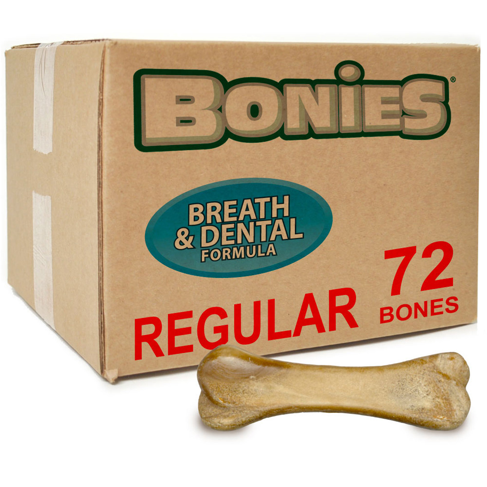 BONIES® Natural Dental Formula BULK BOX REGULAR (72 Bones)
