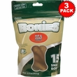 BONIES Hip & Joint Health Multi-Pack SMALL 3-PACK (45 Bones)