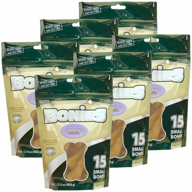 BONIES Natural Calming Formula Multi-Pack SMALL 6-PACK (90 Bones)