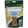 BONIES Natural Dental Bones Multi-Pack MINI (20 Bones / 7 oz)