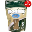 BONIES Natural Dental Health Multi-Pack LARGE 3-PACK (15 Bones)