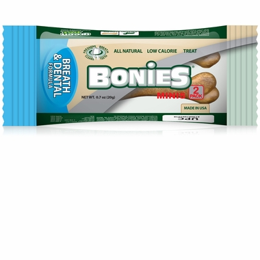 BONIES® Natural Dental Formula MINIS 2 BONE PACK (0.7 oz)