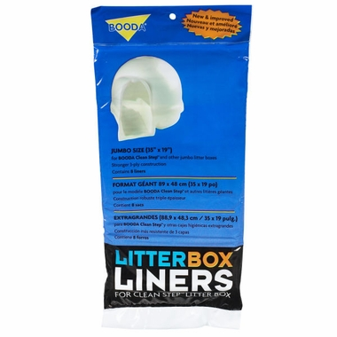 Booda Clean Step Cat Litterbox Liners Jumbo - (8 pack)