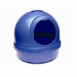 Booda Dome Covered Cat Litter Box Dark Blue