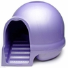 Booda Dome Step Cat Litter Box Iris