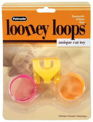 Petmate Looney Loops Cat Toy (3 pack)