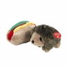 Booda Soft Bite Plush Hedghog & Hotdog - Small (2 pack)