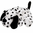 Booda Tuff Plush Rug Dog Dalmatian - Assorted