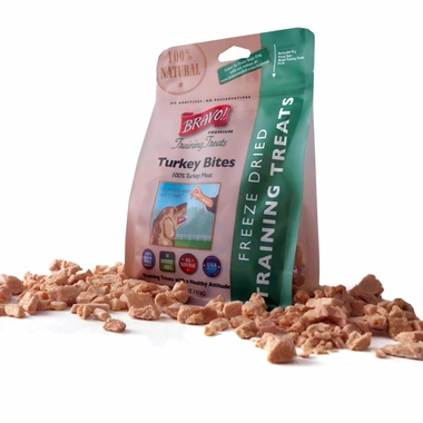 Bravo! Dog Training Treats Turkey (2.5 oz)