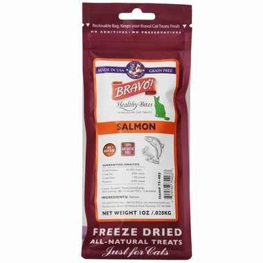 Bravo! Healthy Bites Salmon for Cats(1 oz)