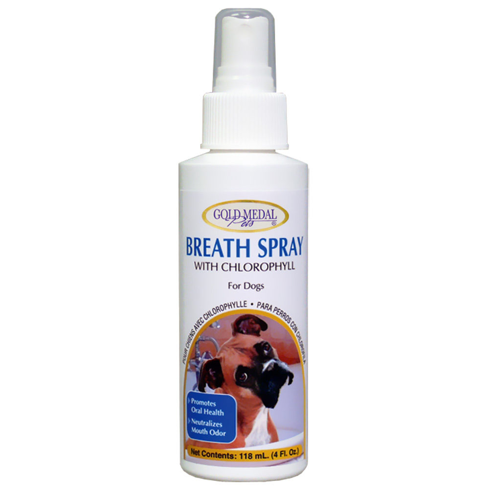 Breath Spray with Chlorophyll (4 oz) for Dogs by Cardinal Labs