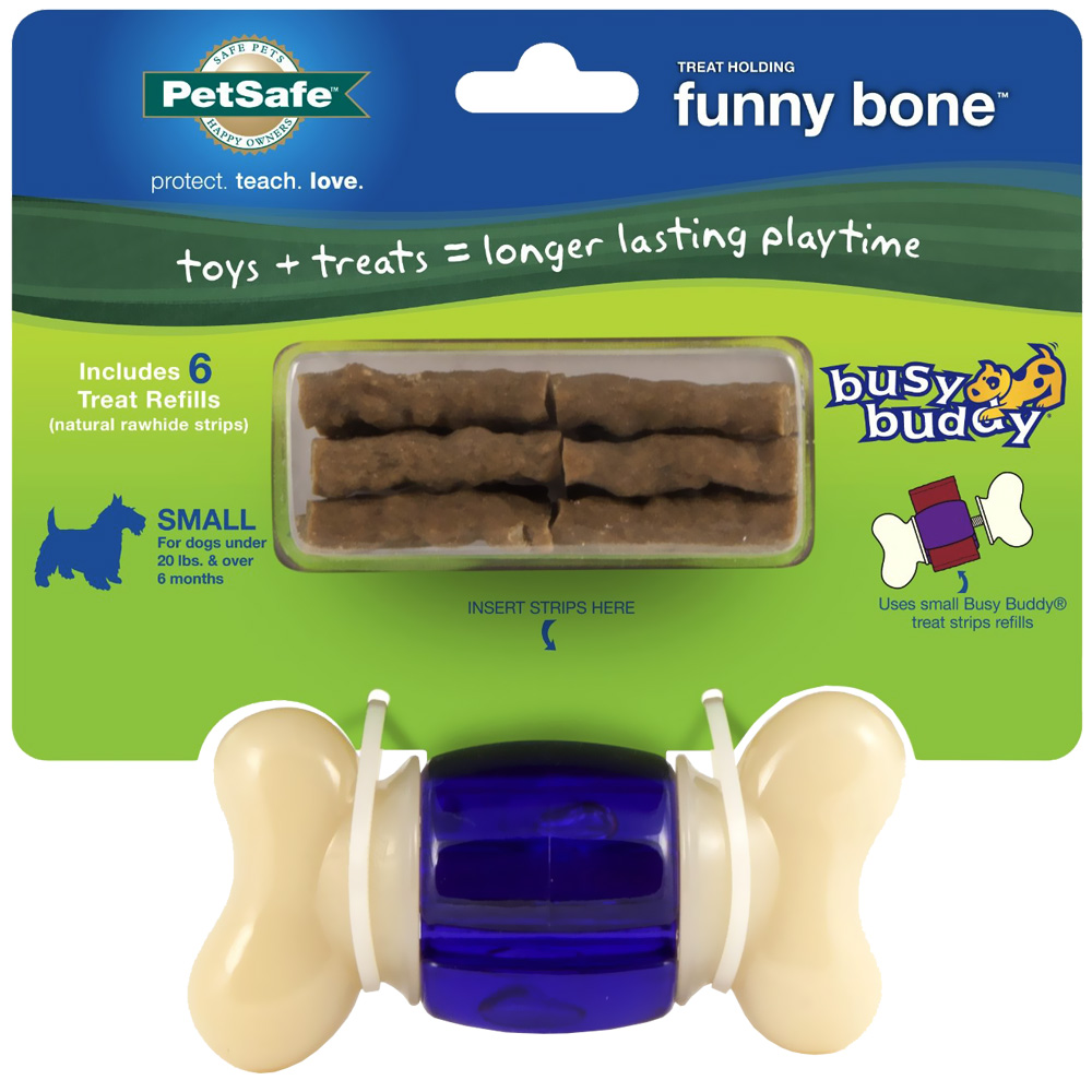 Busy Buddy Funny Bone - Small