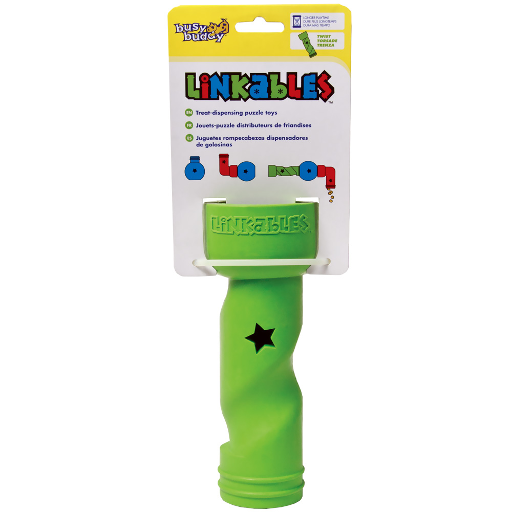 Busy Buddy Linkables Twist Dog Toy