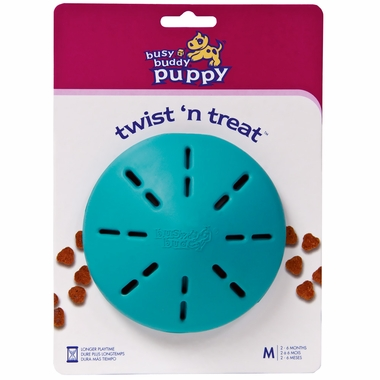 Busy Buddy Puppy Twist N Treat - Medium