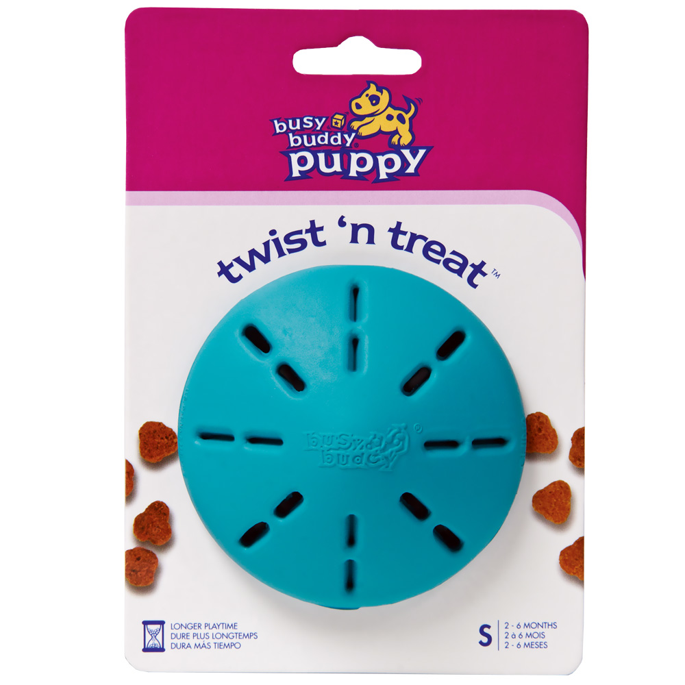 Busy Buddy  Puppy Twist N Treat Small