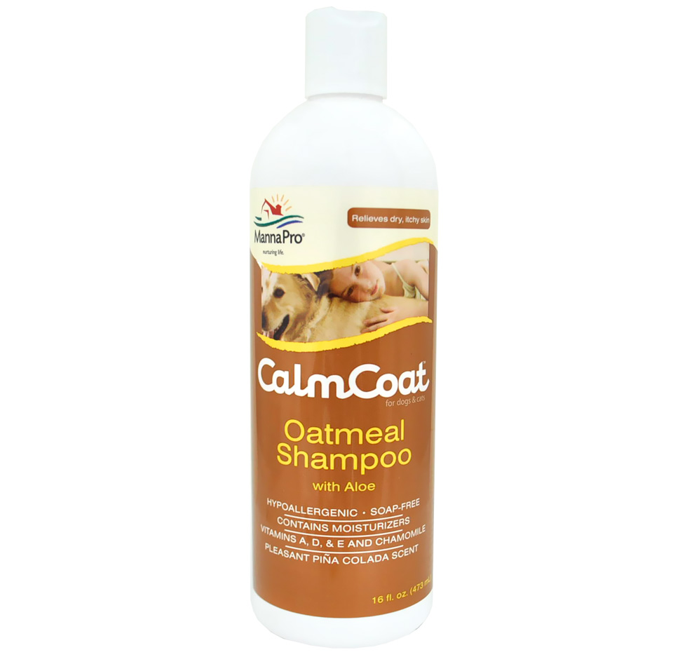 Calm Coat Oatmeal Shampoo with Aloe (16oz)
