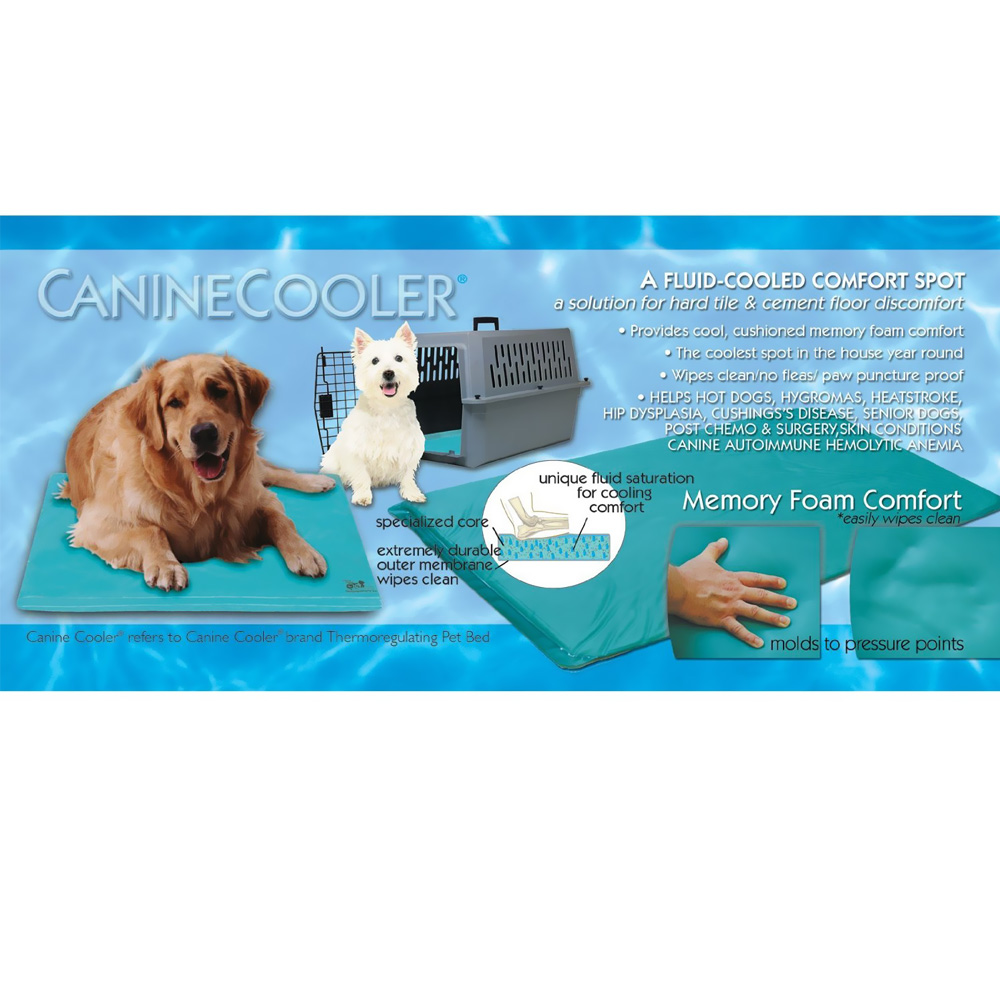 Cool Water Beds Canine cooler bed